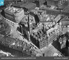 Britain From Above Bradford England, Bradford City, Underground Bunker, West Yorkshire, Old West, Leeds, Aerial View, Historical Photos, Britain
