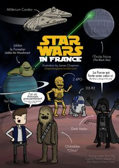 What Star Wars Characters Are Called in French - Neatorama