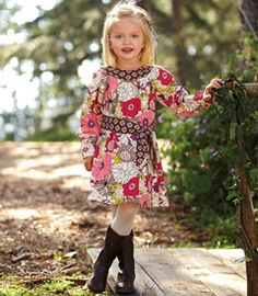 blooming garden dress - Chasing Fireflies