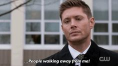 Who in their right mind walks away from Jensen Ackles?  Come on!