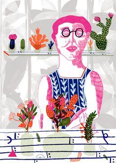 Botanist by Camilla Perkins