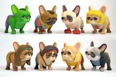 3D Printed Cosplaying French Bulldogs are Un-Leashed into the Raw Legends Collaborations Shapeways Shop   3DPrint.com   The Voice of 3D Printing / Additive Manufacturing