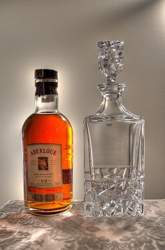 For any gift-giving occasion, pair Aberlour twelve-year with a crystal decanter