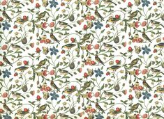 Secret garden - wrapping paper from Italy by CardAndArtShop on Etsy https://www.etsy.com/listing/535252882/secret-garden-wrapping-paper-from-italy