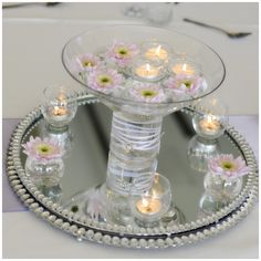 Vintage Wedding Theme | vintage-wedding-theme-mirror-plate