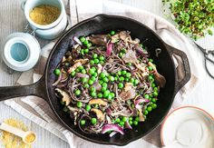 A simple, quick and delicious basic pasta made with mixed mushrooms, green peas, and cashew creamy sauce. Homemade cashew cream is a healthy alternative to heavy cream. Black bean pasta is a new generation of pasta. It`s a wonderful source of dietary fibre, plant-based protein and it's gluten-free. In addition, this black bean …