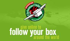 "Samaritan's Purse ""Operation Christmas Child"" shoeboxes:  Looking forward to this new feature and planning to ""follow our boxes"" this year!!  Just turned them in today... <3"