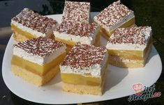 Sweet Recipes, Cake Recipes, Croatian Recipes, Fresh Apples, Polish Recipes, Great Desserts, Food Cakes, Confectionery, Graham Crackers