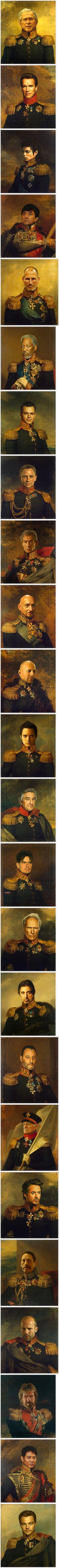 Best 25 Digital Military Portraits by Steve Payne