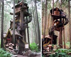 73 Tree House-Inspired Finds - These Canopy Cabins Appeal to Adult Whose a Child a Heart (CLUSTER)