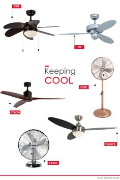 Fans are an energy efficient and cost effective way to keep cool inside as the temperatures start to rise outside. Whether you're after rechargeable and compact or high-wattage and ceiling fans we've got something to suit your needs.