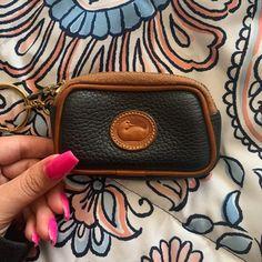 Dooney & Bourke Accessories | Dooney Bourke Vintage Zip Key Coin Purse | Poshmark Vintage Leather, Handmade Leather, Leather Handbags, Leather Bags, Leather Shoulder Bag, Shoulder Bags, Dooney Bourke, Louis Vuitton Monogram, Women Accessories