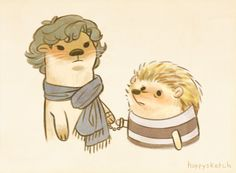 this is probably the most adorable thing i've ever seen....i mean...look at otterlock's hair and expression...it's perfect!