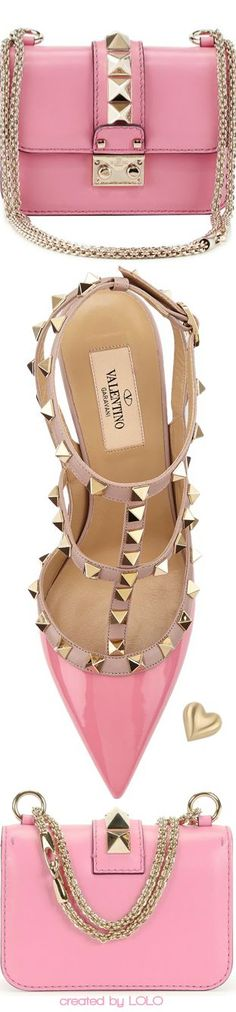 ❤︎Valentino | LOLO  I love these in nude tone.  However, they are a bit out of my price range.  But a girl can still admire.