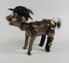Puss-in-Boots - Interactive Steampunk Fairytale Cat https://www.etsy.com/shop/DarkRainDesign