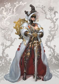 ArtStation - Flower knight, in shoo