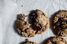 Spelt Dark Chocolate Chunk Cookies – butter and brioche