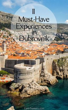 Dubrovnik Croatia: Dubrovnik Croatia: 11 must-have experiences. Walk the medieval walls visit Lokrum Island Game of Thrones and Star Wars filming sites wine tasting and more. European Destination, European Travel, Best Places To Travel, Cool Places To Visit, Pula Croatia, Lokrum Island, Travel Photographie, Croatia Travel Guide, Filming Locations