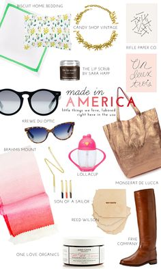 Celebrating Labor Day: Our Favorite American-Made Products | theglitterguide.com