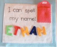 I Can Spell My Name Page / christmas xmas ideas - Juxtapost