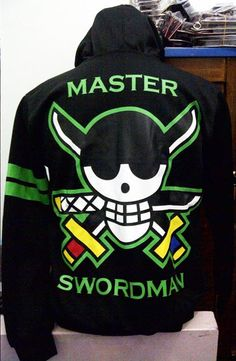 One Piece Zoro Hoodie Jacket by RedGorillaco on Etsy, $39.90