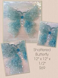 Art Shattered is a North MS based home decor & art gallery specializing in artistic creations using crushed glass, shattered glass and other reclaimed objects! Broken Glass Crafts, Broken Glass Art, Sea Glass Crafts, Shattered Glass, Sea Glass Art, Glass Wall Art, Shell Crafts, Stained Glass Art, Resin Crafts