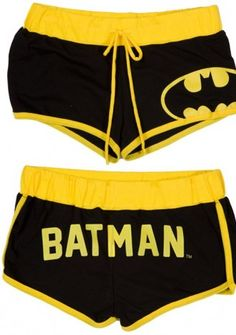 batman boy shorts