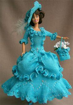 Идеи Вязаной Одежды для Кукол Барби