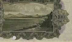 'ploughman' note (reverse design - showing Killiney Bay, Co Dublin) Old Irish, Design Show, Dublin, Banks, The 100, Note, Painting, Things To Sell, Painting Art