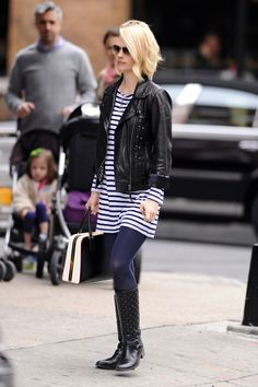 January Jones Photos: January Jones Out and About in the Big Apple