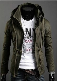 Mens Classic Design Slim Short Style Coats Jackets(Color Optional)