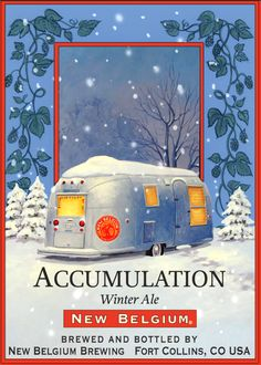 Accumulation  Winter Ale, New Belgium Brewery, Ft Collins, CO