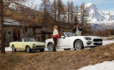 """The Fiat 124 Spider America Wont Actually Come to America   As Alanis Morissette might say isn't that ironic?  Fiat's 124 Spider is an Italian-ified version of the Japanese Mazda MX-5 Miata and it's just been given a special-edition variant with the name """"America"""" for sale in Europe. Forget Pitbull this roadster is Mr. Worldwide. Oddly the 124 Spider America won't be sold in the U.S. We wish it were headed here however because we like the kit.  If you thought that this special-edition 124's…"""