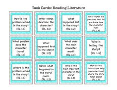Close Reading Task Cards FREE
