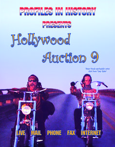 Hollywood Auction 9, 7-23-01  https://www.profilesinhistory.com/auctions/hollywood-auction-9/