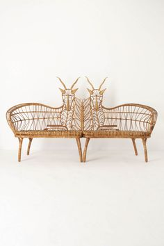 Springbok Benches from Anthropologie