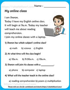 Reading Comprehension Grade 1, First Grade Reading Comprehension, Phonics Reading, Reading Passages, Reading For Grade 1, English Grammar For Kids, English Worksheets For Kids, English Lessons For Kids, Reading Worksheets