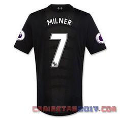 Camiseta MILNER Liverpool 2016 2017 segunda