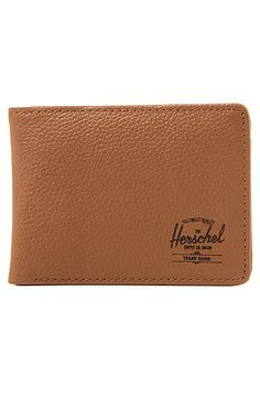 Herschell Supply Wallet Hank Wallet in Tan Pebbled Leather Brown - Karmaloop.com use rep code: OLIVE for 20% off!