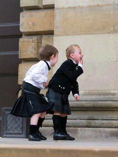 """Celtic Tartan Plaid Kilts #children #fashion"""