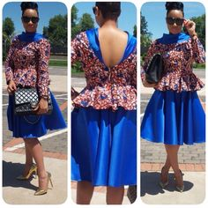 It Is Lovely, It Is Enticing, It Is Beautiful, It Is Glowing. It Is the Ankara Collection! Check It Out and Get Inspired with the Effortlessly Fabulous & Unique Styles - Wedding Digest NaijaWedding Digest Naija African Shirts, African Print Dresses, African Print Fashion, Africa Fashion, African Dress, African Attire, African Wear, African Women, African Beauty