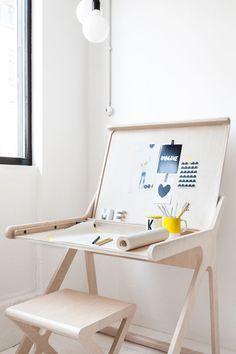 Back to School: 20 Stylish Home Office Desks | DesignRulz