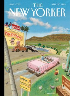 "Cover Story: Bruce McCall's ""Life in the Cuba of Tomorrow"" - The New Yorker"