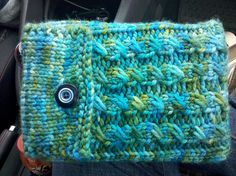 knit kindle cover