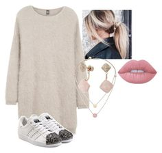 """""""Untitled #107"""" by i-love-modas on Polyvore featuring Eleventy, Michael Kors, adidas Originals and Lime Crime"""
