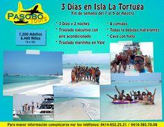 3 días y 2 noches en la espectacular Isla La Tortuga  #PlayasDeVenezuela #IslaLaTortuga #Venezuela #PasoboTours #RecorriendoVenezuela #TurismoEnVenezuela #VenezuelaEsBella