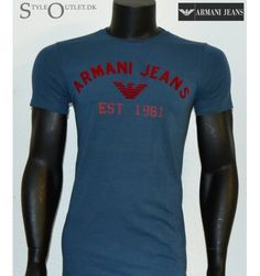 Armani T-shirt, herre mode t-shirt