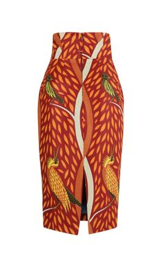 Letzia Pencil Skirt by Stella Jean for Preorder on Moda Operandi Fashionable skirts African Fashion Skirts, African Inspired Fashion, African Print Fashion, Africa Fashion, Ghanaian Fashion, Ankara Fashion, African Print Skirt, African Print Dresses, African Fabric