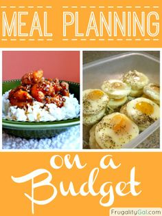 Quick and easy tutorial to plan your meals and save money.