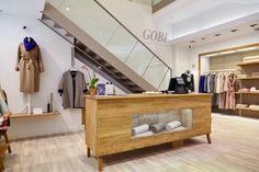 Galleria Hamburg, Große Bleichen 21, 20354 #GOBI brand cashmere Mongolia. Natural and organic